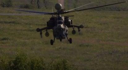 러시아에서 현대화 된 Mi-28NM 헬리콥터 양산 시작