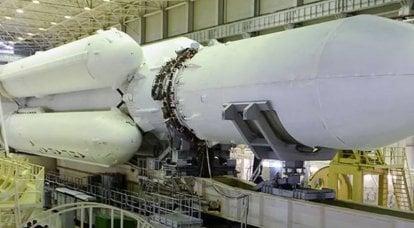 Roscosmos adiou a data do segundo lançamento do lançador pesado Angara-A5