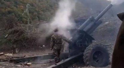 "Karabakh의 새로운 ""휴전"": 양측은 서로 포격을 비난"