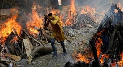 地球上的地狱:印度的covid威胁着整个世界