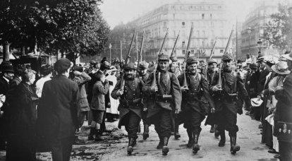 Analyse marxiste. Première Guerre mondiale. Les premières salves de la guerre