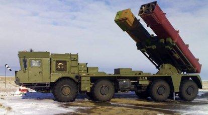 Tornado-S MLRS的更新后的弹药负荷是多少? 9M528和9M542版本的火箭