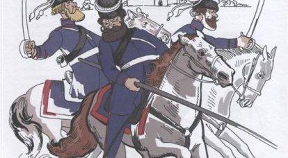1812年のロシアのパルチザン。 I.ドロホフ、D。ダビドフ、V。ディビッチ