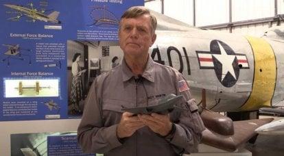 Der amerikanische Testpilot sprach über die Eigenschaften des Prototyps des Jägers der 5. Generation YF-23