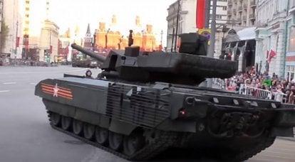 """""""Les problèmes avec le moteur et la caméra thermique ont été résolus"""": le chef du ministère de l'Industrie et du Commerce a évoqué """"Armata"""""""