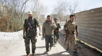 आतंकवादियों ने कई दिशाओं में देश के दक्षिण में सीरियाई सेना के ठिकानों पर हमला किया