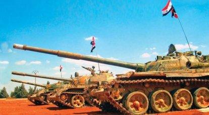 シリアの軍事情勢:「中等度」がCAA装甲部隊の基地を攻撃した