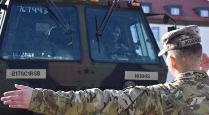 军事演习使波兰和波罗的海国家平静