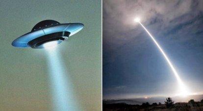 不明飞行物披露。 外星人反对核武器