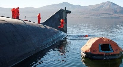 Rescue equipment for submariners of the Russian Navy