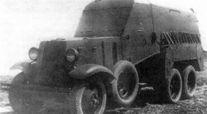 Carro blindado sanitário e de transporte BA-22