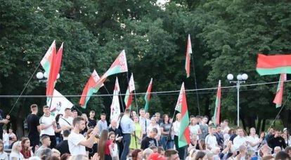 ベラルーシの治安部隊は抗議者のミンスクの中心をクリアしました