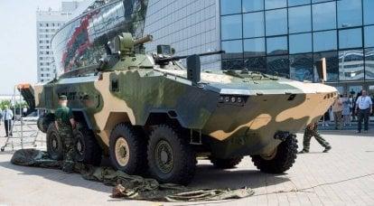 白俄罗斯人提出了苏联装甲运兵车的替代品。 Volat V2装甲运兵车