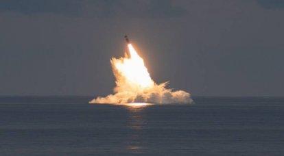 अमेरिकी नौसेना ने ट्राइडेंट II D5LE अंतरमहाद्वीपीय बैलिस्टिक मिसाइल का एक और परीक्षण किया