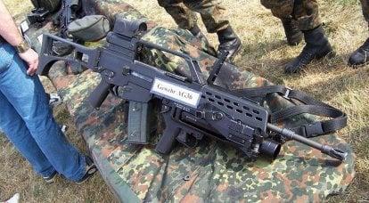 武器制造商。 日耳曼克隆AR-15和AR-18