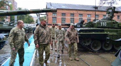Comandante en Jefe de las Fuerzas Armadas de Ucrania: la mitad de los tanques ucranianos se han modernizado