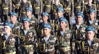 世界の軍隊。 トルクメン武装勢力