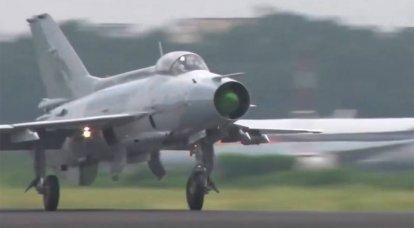 「昔ながらの戦闘機が使用された」:中国空軍は台湾の国境近くの演習でソビエトMiG-21のコピーを使用しました