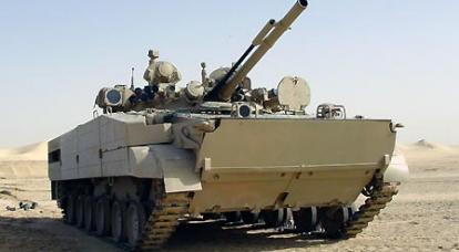 Le BMP russe a suscité un vif intérêt lors de l'exposition DEFENSYS 2010.