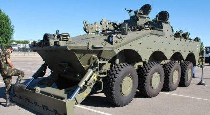 スペイン軍のための新しいBREM Centauro VCREC
