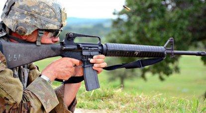 米軍が7,62mmから5,56mmに切り替えたのはなぜですか