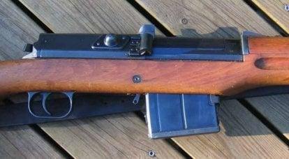 Nouveau depuis l'ancien. Projets de modernisation suédois fusil Ag m / 42