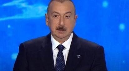 अलीयेव ने करबख में लड़ाई को समाप्त करने के लिए एकमात्र शर्त का नाम दिया