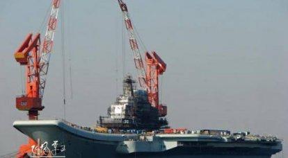 中国は空母艦隊を準備中