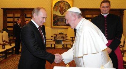 Putin, Papa ile görüşüyor. Uzman Yorumları