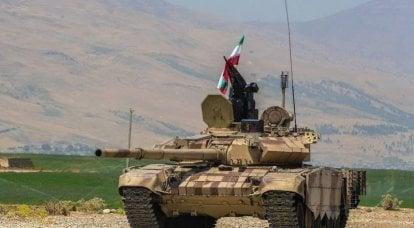 ईरान अपने टी -72 एस टैंक का गहराई से आधुनिकीकरण करता है
