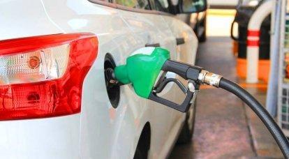 La benzina è come le gomme, non puoi fare rifornimento d'estate inverno