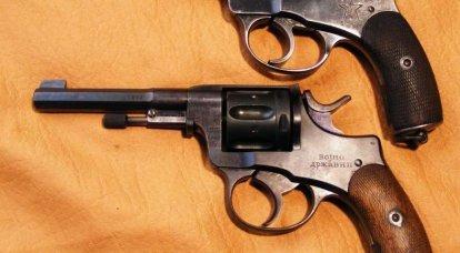 """""""纳甘""""——一把左轮手枪、一把步枪和……一辆汽车!"""