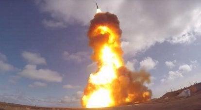 रूसी एयरोस्पेस बलों ने एक नई एंटी-मिसाइल का परीक्षण किया