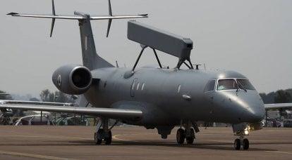 El concepto de una aeronave no tripulada a bordo AWACS