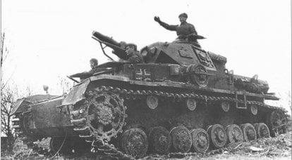 제 XNUMX 차 세계 대전 초기에 포획 된 독일 전차와 자주포 사용