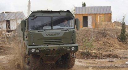 MZKT-600203 taktik şasi (Belarus Cumhuriyeti)