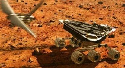 Robot volanti per studiare la superficie di Marte