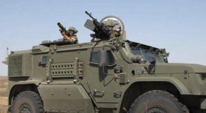 """극동의 대공 부대는 장갑차 """"태풍-방공 방어""""를 처음으로받을 것입니다"""