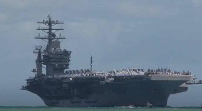 """""""关于德黑兰加强威慑的信息"""":美国向波斯湾派遣航空母舰"""