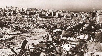 फिलिस्तीनियों के खिलाफ सीरिया। इजरायल ने लेबनान पर आक्रमण किया