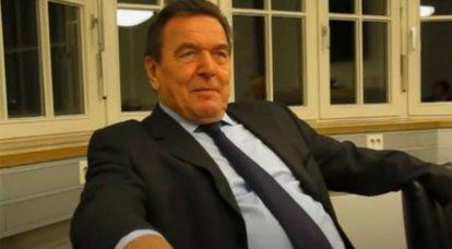 Gerhard Schroeder: Die Wiedervereinigung der Krim mit Russland ist eine Reaktion auf die Erweiterung der NATO
