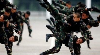 MTR PLA. Quelles sont les caractéristiques des forces spéciales chinoises