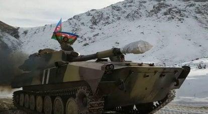 专家提请注意阿塞拜疆将自行火炮和其他重型设备转移到克尔巴哈尔地区的亚美尼亚边界