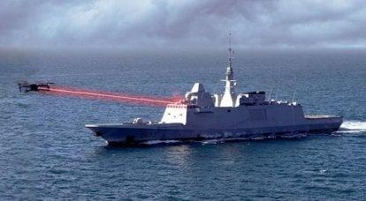 La Armada francesa prueba con éxito un láser de combate para destruir drones