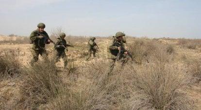 Renforcement du Corps des Marines de la Flottille Caspienne