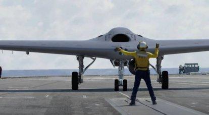 O primeiro esquadrão de aviões-tanque não tripulados MQ-25 Stingray foi formado nos EUA