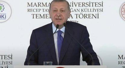Erdogan a exprimé l'espoir de la poursuite de l'offensive azerbaïdjanaise au Karabakh