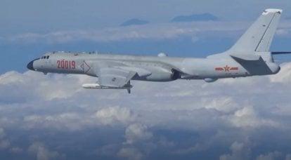 पहली बार अभ्यास में चीनी वायु सेना के H-6K रणनीतिक बमवर्षकों ने 2500 किमी की सीमा के साथ क्रूज मिसाइलों के संशोधन का उपयोग किया।