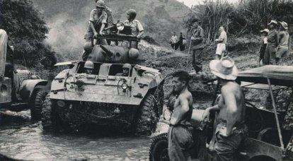 베트남과 Dienbienf 재앙에 대항하는 외국 군단
