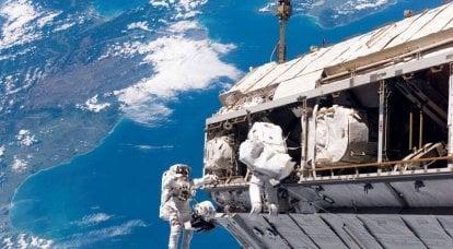 In futuro, la ISS potrebbe diventare una base di riparazione e rifornimento per il veicolo spaziale.